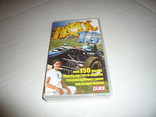 VHS Tape Duke Video Havoc 16 Amanda Stretton car crashes racing Porsche 996 GT3