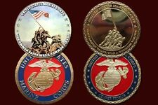lots of 2 U.S Marine Corps Iwo Jima Printed coin