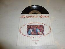 "STATUS QUO - The Anniversary Waltz - 1990 injection UK 2-track 7"" vinyl single"