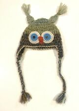 New listing Kids wool owl hat