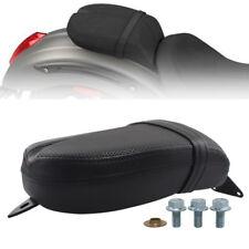 Motorcycle Soft Passenger Pillion Pad Seat Black For 2017 Victory Octane models