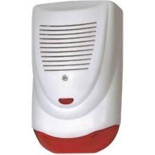 12V  wasserdichte 120db rote blinkende LED  Sirene,  Außenbereich