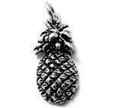 925 Sterling Silver Pineapple Charm