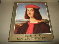 Rinascimento italiano ritratti, Garas, 1981, pittura-Libro, Ungheria/DDR, immagine. S. testo