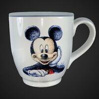 "Vintage Walt Disney World Mickey Mouse Coffee Mug Ceramic Walt Store 4.5""T"