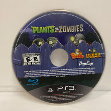 Plants vs. Zombies (Sony PlayStation 3, 2011) Disc Only