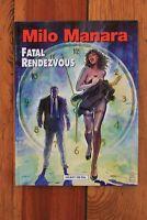 Fatal Rendezvous Pinup Crime Noir by Milo Manara (Spider-woman #2 Variant) NEW