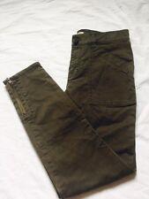 Madewell Skinny Fatigues 28  NWT $118 Shale Green A5556 Stretch Skinny Pants