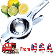 Super Heavy Duty JUMBO SIZE Food Grade Stainless Steel Lemon Juicer Squeezer&Tap