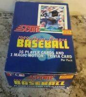1989 Score Baseball Pack Box - 36 Packs