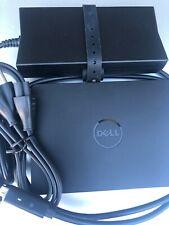 New listing Dell Wd15 K17A Docking Station Usb-C with Original power Supply Pre-Owned 130W