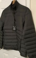 NWT RLX RALPH LAUREN GOLF Men's OLIVE DOWN PUFFER 1/4 ZIP PULLOVER JACKET Sz XL