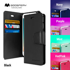 For iPhone X s 7 8 6 6S Plus 5 5S Leather Wallet CASE MERCURY SONATA DIARY Cover