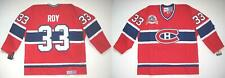 Ccm Montreal Canadiens Patrick Roy Red Stanley Cup Centennial Jersey M