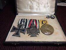 Authentic  German 1813 1914 Iron Cross medal.Kaiser medals uniform  chest bar