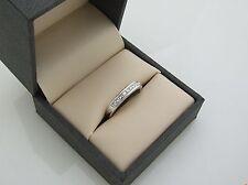 Brand New 18ct White Gold Ring with 0.50ct (Half Carat) Princess Cut Diamonds