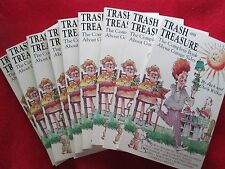 9 copies of Trash and Treasure- The Complete Book about Garage Sales Jack Wilkie