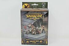 Warmachine Mercenaries Commodore Cannon And Crew New