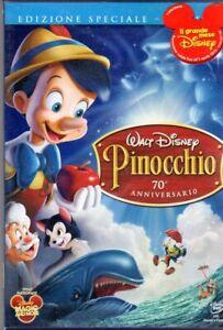PINOCCHIO DVD DISNEY