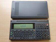 SHARP PC-E500 / 32 KB Pocket Computer, BASIC Calculator, Taschenrechner #601
