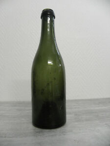 ANTIQUE BOTTLE  win wine Century glass vintage