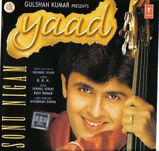 SONU NIGAM - YAAD - NEW BOLLYWOOD SOUNDTRACK CD - FREE UK POST