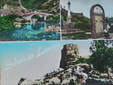 Vecchia Cartolina di LAURINO Ponte antico Castello 1973 vedute del Salerno Foto