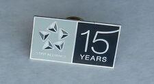 Air Canada Star Alliance 15 Year Airline Souvenir Lapel Hat Pin