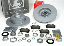 400.3696.20 2x disco de freno freno nuevo Zimmermann