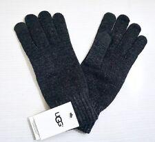 Ugg Women S Tech Knit Gloves Charcoal Gray 1 Size Touchscreen Technology