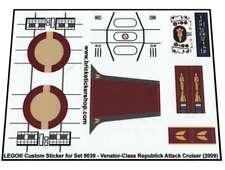 Lego® Custom Pre-Cut Transparant Sticker for Star Wars set 8039
