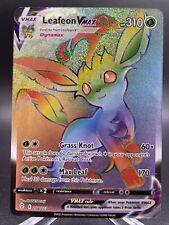 Leafeon VMAX 204/203 Hyper Secret Rainbow Rare