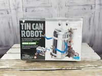4M Green Science Tin Can Robot Fun Mechanics Kids Project Kit New in sealed box.