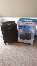 "SAMSONITE ULTRALITE ""2"" 2PC LUGGAGE SOFTSIDE SET 27"" & 21"" 360 SPINNER CARRY-ON"