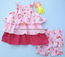 75% OFF! PENELOPE MACK BABY GIRL TIERED TOP BLOOMER SET 6-9 MONTHS BNWT $16.99
