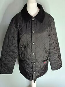Barbour Black quilted jacket size XXS