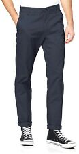 Lee Extreme Motion Zip Slim Chinos Tapered Stretch Cotton Jeans Trousers Navy