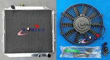 Aluminum Radiator for TOYOTA Hilux Surf KZN185 3.0L Diesel MT 1996-2002 + FAN