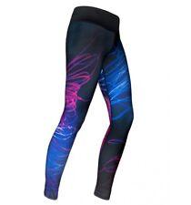 Leggings coloré Mosaic Biceps Fitnesshose Pantalon Femmes vraiment