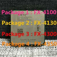 AMD FX-4100 FX-4130 FX-4170 FX-4300 FX-4350 CPU Quad-Core Socket AM3+ Processor