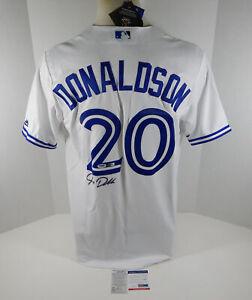 Toronto Blue Jays Josh Donaldson #27 Replica Signed White Jersey L Auto PSA/DNA