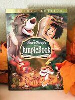 The Jungle Book DVD 2-Disc Set, 40th Anniversary Edition w/ Slipcover NEW DISNEY