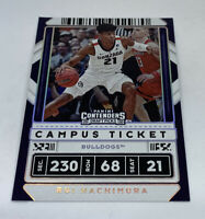 2020 Contenders Draft Picks Holographic Foil Campus Ticket Rui Hachimura #33