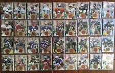 1996 Collector's Edge Advantage Authentic Super Bowl Game Ball Complete Set 36