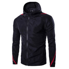 Men's Cycling Waterproof Rain Jacket Outdoor Running Hiking Full Sleeve Coat Top