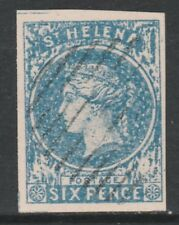 St Helena 6777 - PERKINS BACON 6d forgery by DAVID COHN  (West type 2) column 5
