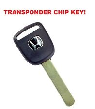 New Master Transponder Key 13 Chip Chipped Ignition Door Uncut For Honda Acura