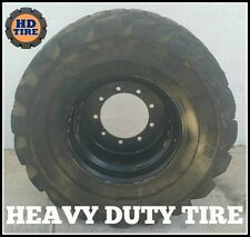 33x15.50-16.5  OTR FOAM FILLED TIRE ON 9 HOLE WHEEL, 33-15.50x16.5 TYRE X 1