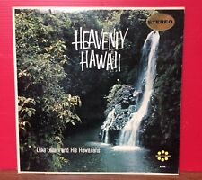 "Luke Leilani And His Hawaiians ""Heavenly Hawaii"" 33 1/3 RPM LP Record"
