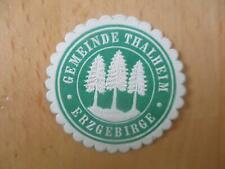 (32979) Siegelmarke - Gemeinde Thalheim